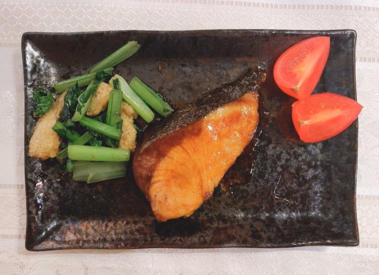 野菜との炒め物