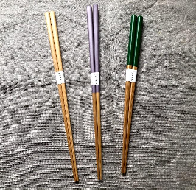 豪雨被害復旧支援品の竹箸